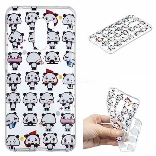 Mini Panda Clear Varnish Soft Phone Back Cover for Mi Xiaomi Pocophone F1