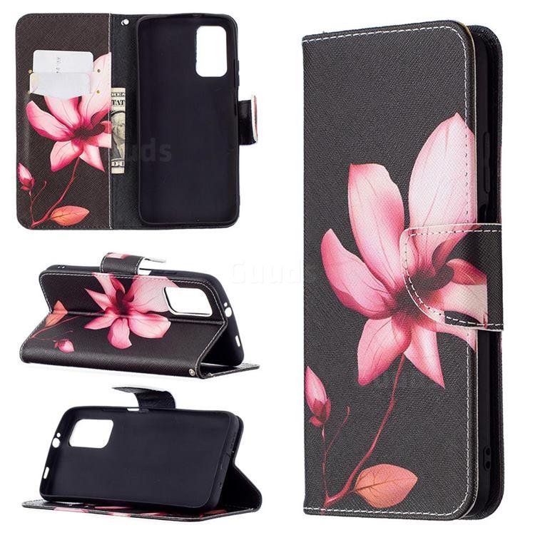 Lotus Flower Leather Wallet Case for Mi Xiaomi Poco M3