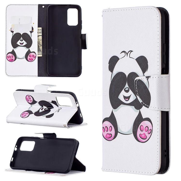 Lovely Panda Leather Wallet Case for Mi Xiaomi Poco M3