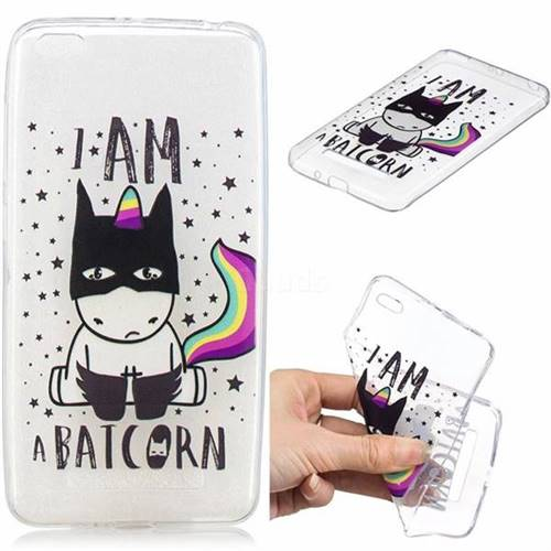 Batman Clear Varnish Soft Phone Back Cover for Xiaomi Redmi 4A