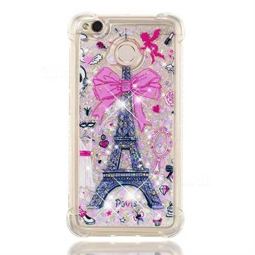 finest selection 4c441 a9d28 Mirror and Tower Dynamic Liquid Glitter Sand Quicksand Star TPU Case for  Xiaomi Redmi 4 (4X)