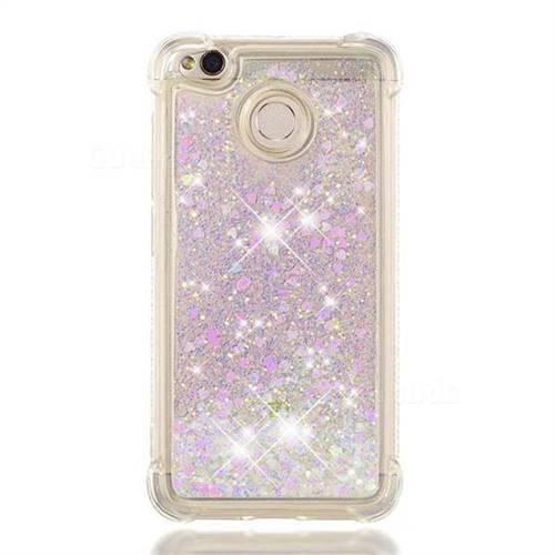 info for 17178 2952c Dynamic Liquid Glitter Sand Quicksand Star TPU Case for Xiaomi Redmi 4 (4X)  - Pink
