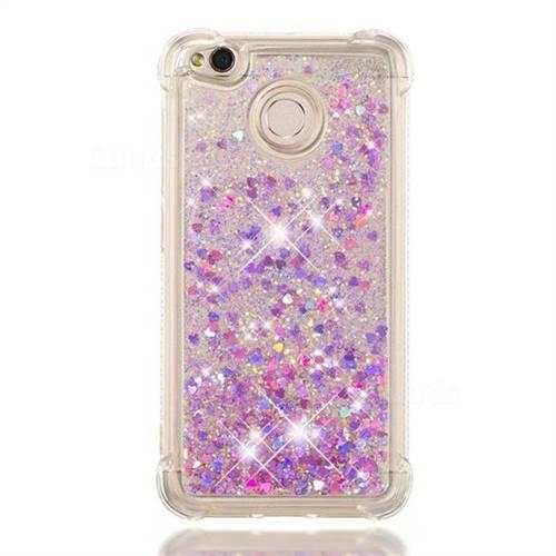 timeless design 69b4a 93013 Dynamic Liquid Glitter Sand Quicksand Star TPU Case for Xiaomi Redmi 4 (4X)  - Rose