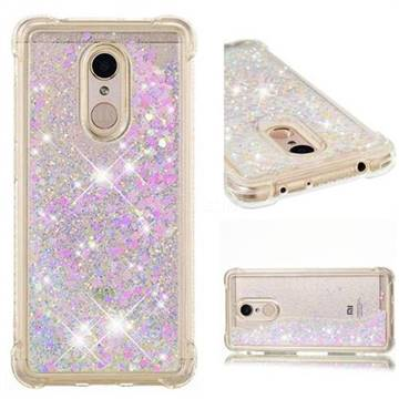 Dynamic Liquid Glitter Sand Quicksand Star TPU Case for Mi Xiaomi Redmi 5 - Pink