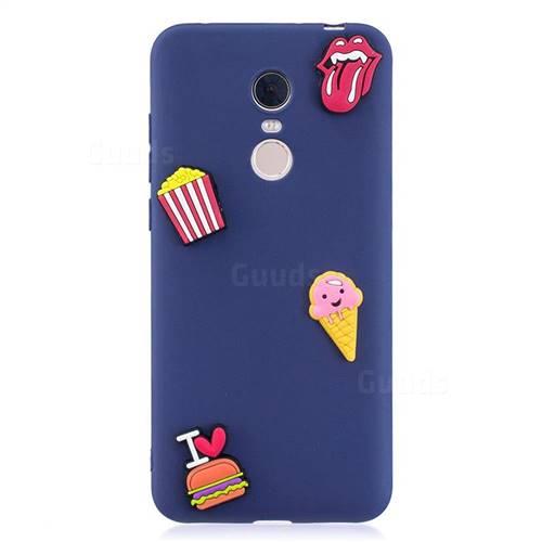 I Love Hamburger Soft 3D Silicone Case for Mi Xiaomi Redmi 5