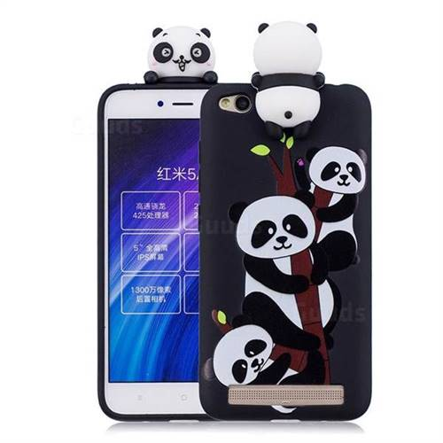 Ascended Panda Soft 3d Climbing Doll Soft Case For Xiaomi Redmi 5a Tpu Case Guuds