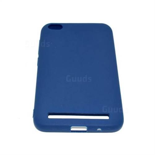 ff132ebcf Candy Soft Tpu Back Cover For Xiaomi Redmi 5a Blue Tpu Case Guuds