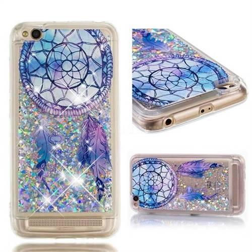Dynamic Liquid Glitter Quicksand Soft TPU Case for Xiaomi Redmi 5A - Fantasy Wind Chimes