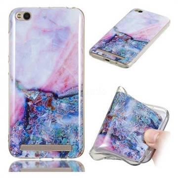 Purple Amber Soft TPU Marble Pattern Phone Case for Xiaomi Redmi 5A