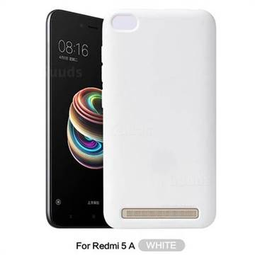 the best attitude 70ce5 45062 Howmak Slim Liquid Silicone Rubber Shockproof Phone Case Cover for Xiaomi  Redmi 5A - White