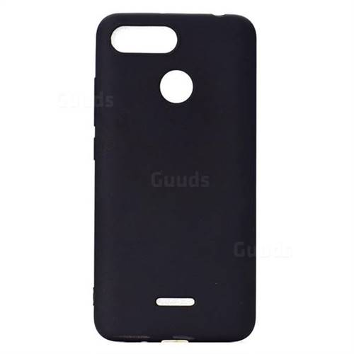 8cd09960ed7 Candy Soft TPU Back Cover for Mi Xiaomi Redmi 6 - Black - Back Cover - Guuds