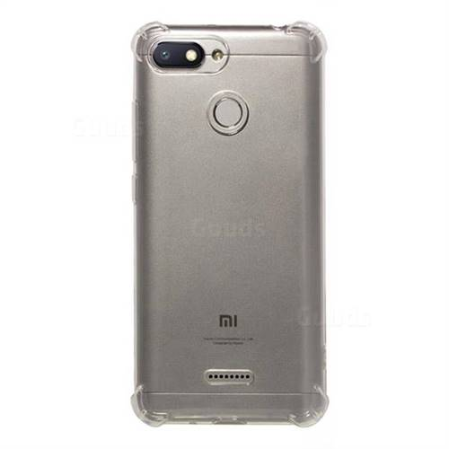 finest selection b85ec aba36 Anti-fall Clear Soft Back Cover for Mi Xiaomi Redmi 6 - Transparent