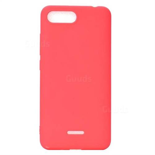 17364aeb187 Candy Soft TPU Back Cover for Mi Xiaomi Redmi 6A - Red - Back Cover - Guuds