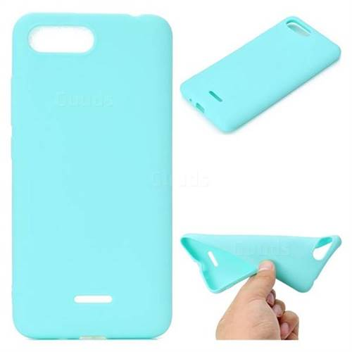 c70382d727e Candy Soft TPU Back Cover for Mi Xiaomi Redmi 6A - Green - Back ...