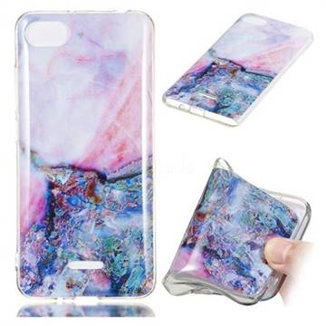 Purple Amber Soft TPU Marble Pattern Phone Case for Mi Xiaomi Redmi 6A