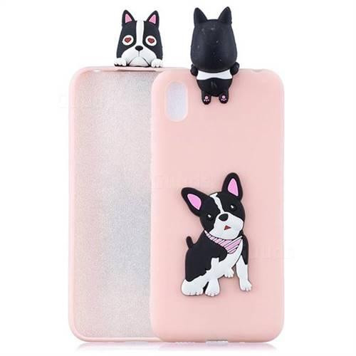 Cute Dog Soft 3D Climbing Doll Soft Case for Mi Xiaomi Redmi 7A