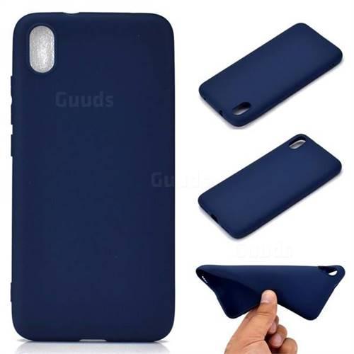 Candy Soft TPU Back Cover for Mi Xiaomi Redmi 7A - Blue