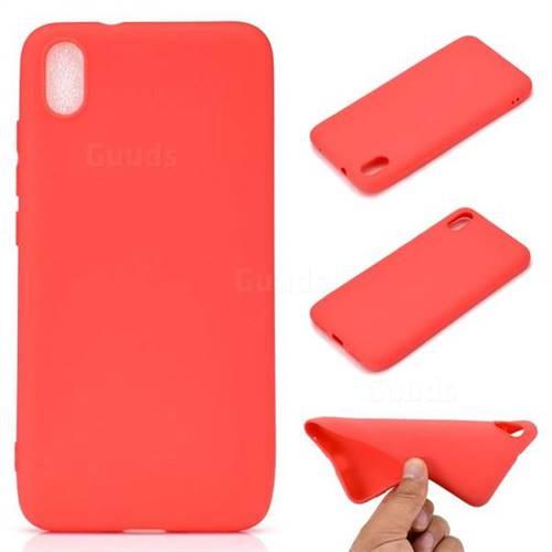 Candy Soft TPU Back Cover for Mi Xiaomi Redmi 7A - Red