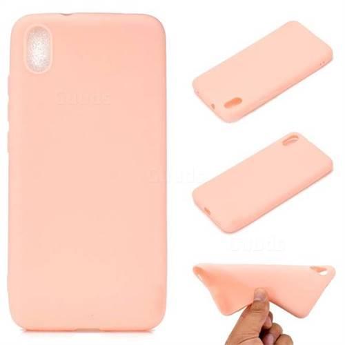 Candy Soft TPU Back Cover for Mi Xiaomi Redmi 7A - Pink