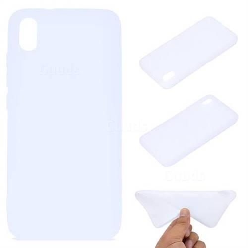 Candy Soft TPU Back Cover for Mi Xiaomi Redmi 7A - White