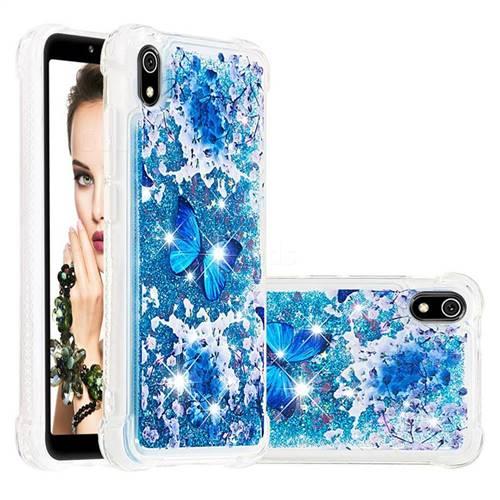 Flower Butterfly Dynamic Liquid Glitter Sand Quicksand Star TPU Case for Mi Xiaomi Redmi 7A