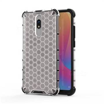 Honeycomb TPU + PC Hybrid Armor Shockproof Case Cover for Mi Xiaomi Redmi 8A - Transparent