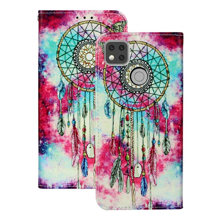 Butterfly Chimes PU Leather Wallet Case for Xiaomi Redmi 9C