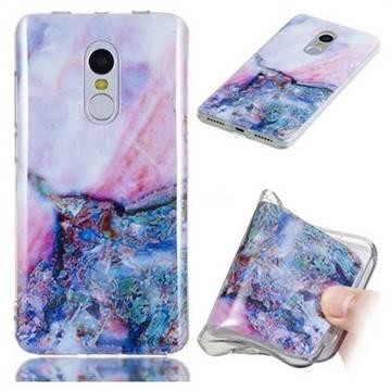 Purple Amber Soft TPU Marble Pattern Phone Case for Xiaomi Redmi Note 4 Red Mi Note4