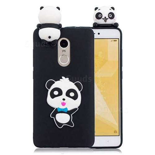 super popular bc682 cde0d Blue Bow Panda Soft 3D Climbing Doll Soft Case for Xiaomi Redmi Note 4X