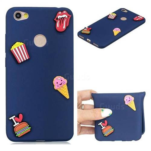 I Love Hamburger Soft 3D Silicone Case for Xiaomi Redmi Note 5A