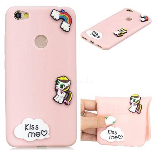 Kiss me Pony Soft 3D Silicone Case for Xiaomi Redmi Note 5A