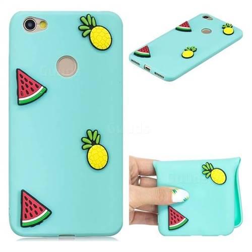 Watermelon Pineapple Soft 3D Silicone Case for Xiaomi Redmi Note 5A