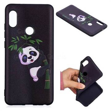 cheap for discount 431bf a8480 Bamboo Panda 3D Embossed Relief Black Soft Back Cover for Xiaomi Redmi Note  5 Pro