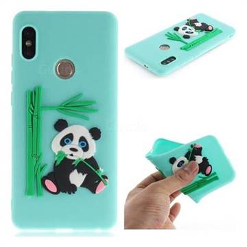 on sale 71924 a93b0 Panda Eating Bamboo Soft 3D Silicone Case for Xiaomi Redmi Note 5 Pro -  Green