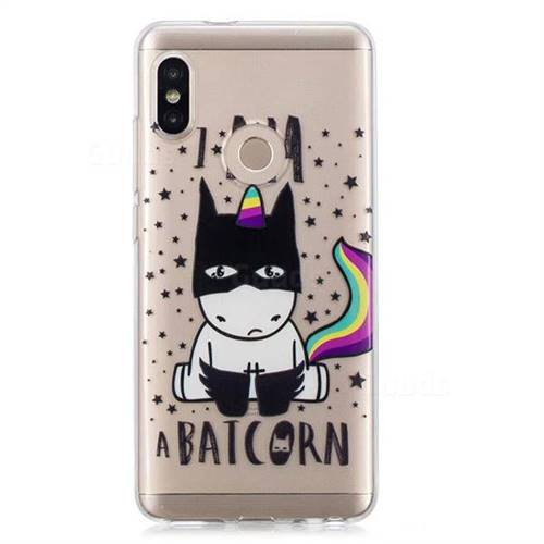 lowest price 9fe1c ac464 Batman Clear Varnish Soft Phone Back Cover for Xiaomi Redmi Note 5 Pro