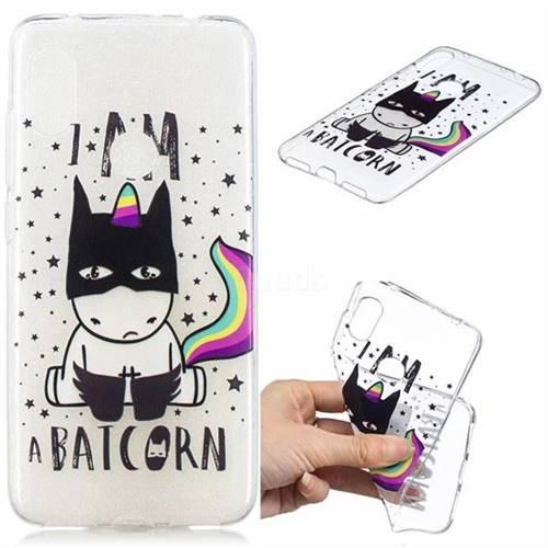 Batman Clear Varnish Soft Phone Back Cover for Mi Xiaomi Redmi Note 6
