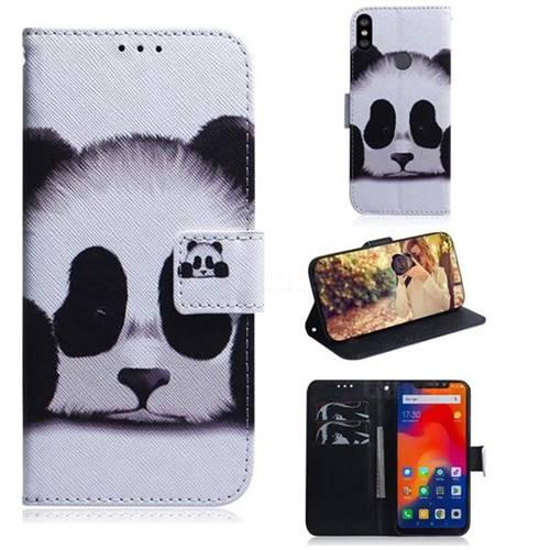 Sleeping Panda PU Leather Wallet Case for Mi Xiaomi Redmi Note 6
