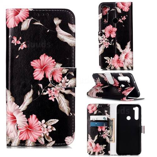 Azalea Flower PU Leather Wallet Case for Mi Xiaomi Redmi Note 8