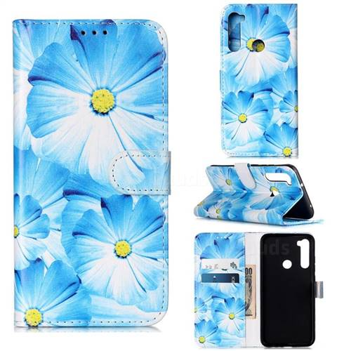 Orchid Flower PU Leather Wallet Case for Mi Xiaomi Redmi Note 8