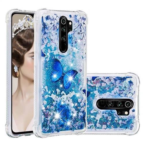 Flower Butterfly Dynamic Liquid Glitter Sand Quicksand Star TPU Case for Mi Xiaomi Redmi Note 8 Pro