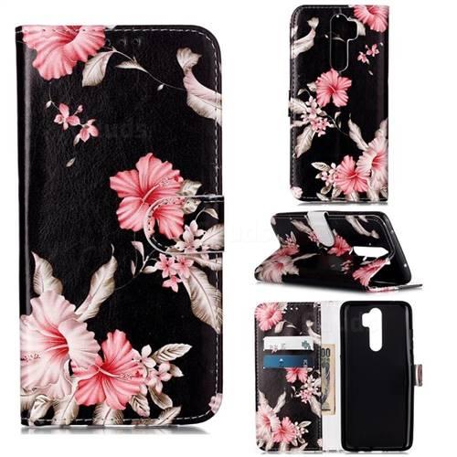 Azalea Flower PU Leather Wallet Case for Mi Xiaomi Redmi Note 8 Pro