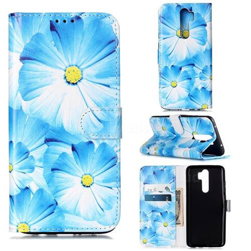 Orchid Flower PU Leather Wallet Case for Mi Xiaomi Redmi Note 8 Pro