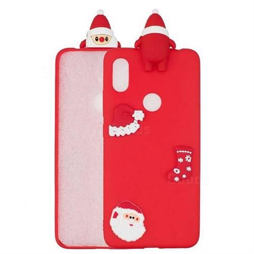 Red Santa Claus Christmas Xmax Soft 3D Silicone Case for Mi Xiaomi Redmi S2 (Redmi Y2)