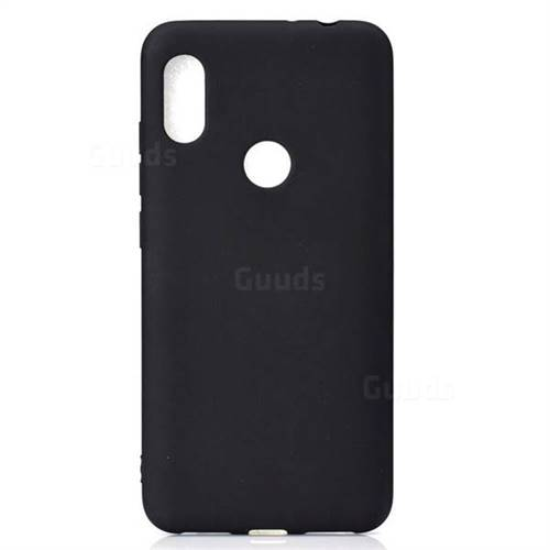 finest selection fe8cb 85219 Candy Soft TPU Back Cover for Xiaomi Mi Mix 3 - Black