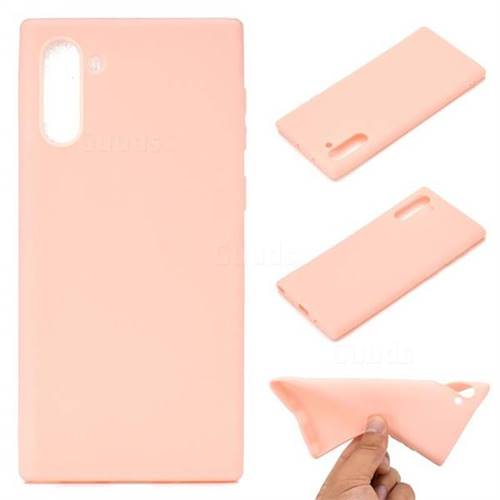 Candy Soft TPU Back Cover for Samsung Galaxy Note 10 (6.28 inch) / Note10 5G - Pink