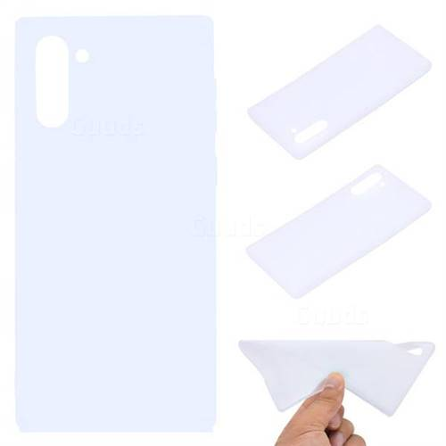 Candy Soft TPU Back Cover for Samsung Galaxy Note 10 (6.28 inch) / Note10 5G - White