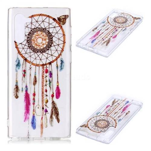 Wind Chimes Butterfly Super Clear Soft TPU Back Cover for Samsung Galaxy Note 10 (6.28 inch) / Note10 5G
