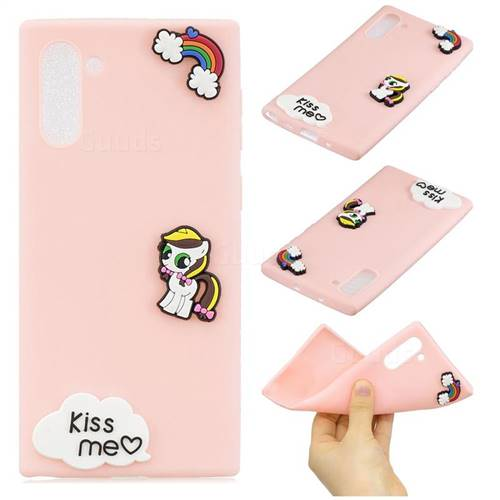 Kiss me Pony Soft 3D Silicone Case for Samsung Galaxy Note 10 (6.28 inch)