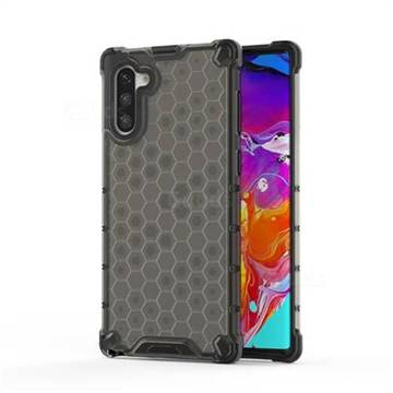 Honeycomb TPU + PC Hybrid Armor Shockproof Case Cover for Samsung Galaxy Note 10 (6.28 inch) / Note10 5G - Gray