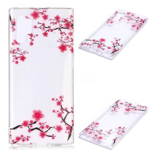 Maple Leaf Super Clear Soft TPU Back Cover for Samsung Galaxy Note 10+ (6.75 inch) / Note10 Plus